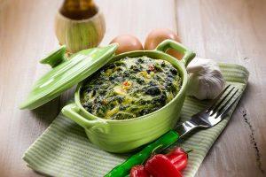 Green soya Spinach