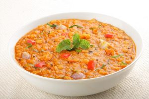 Red Chana soup