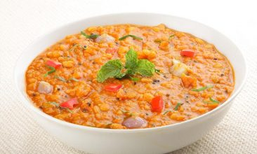 Red Chana soup